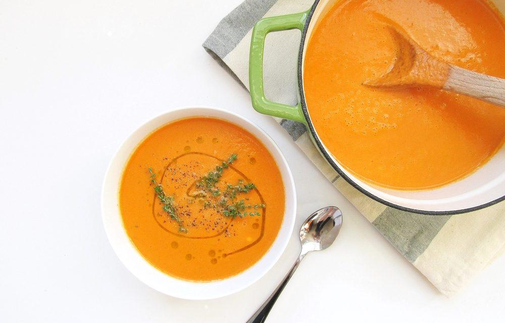 Coconut Tomato Soup