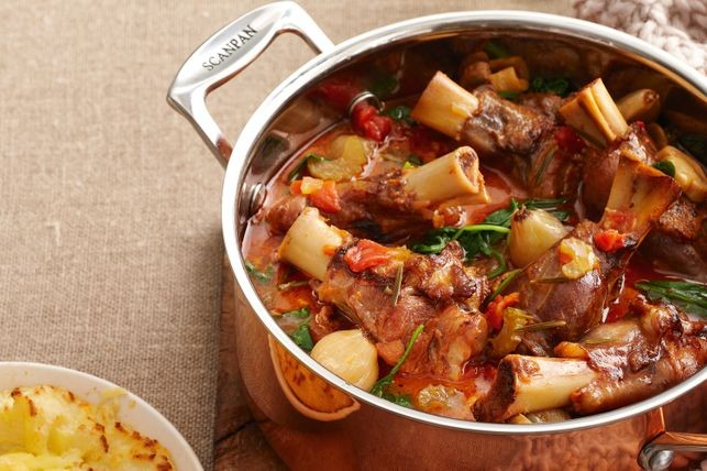 Garlic Lamb Stew with Bacon