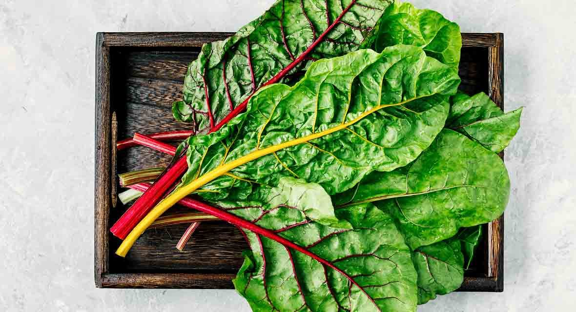 Nicely Flavored Swiss Chard