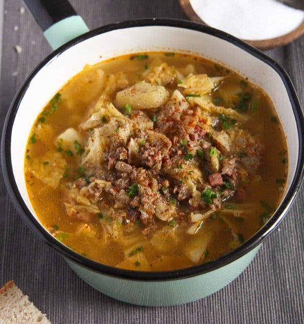 Savory Cabbage Stew
