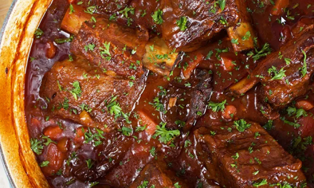 Spicy Chipotle Short Ribs Stew