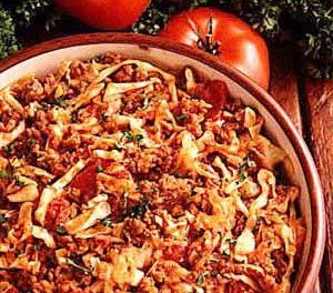 Winter Cabbage Goulash