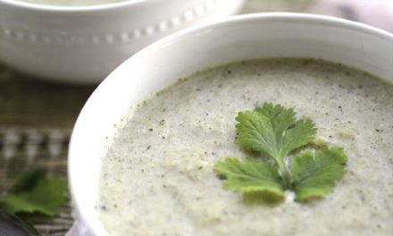 Broccoli Cabbage Cream Soup