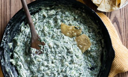 Cheese Spinach Dips