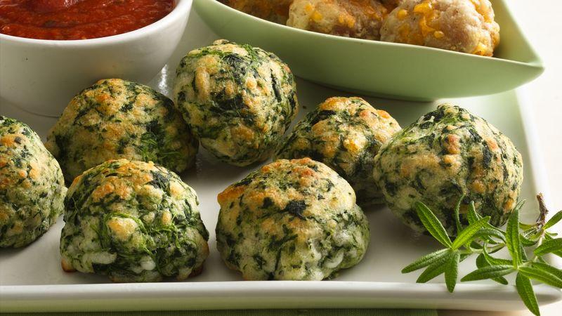 Creamy Spinach Balls