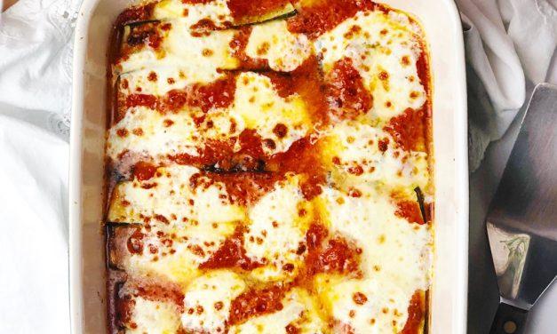 Marinara Zucchini Casserole