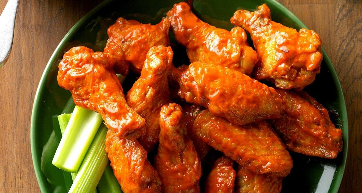 Perfect Chicken Wings