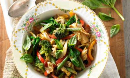 Sauteed Vegetables with Tamari