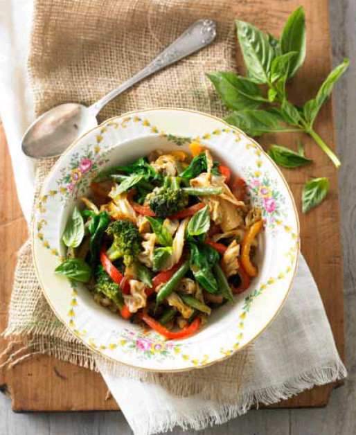 Sauteed Vegetables with Tamari