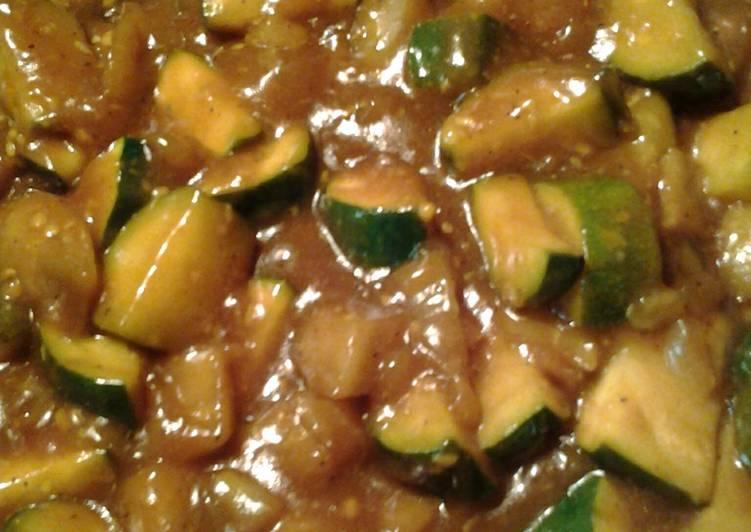 Sour Eggplant Zucchini
