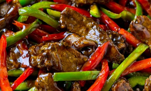 Spicy Pepper Beef Stock