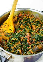 Spinach Pepper Stew