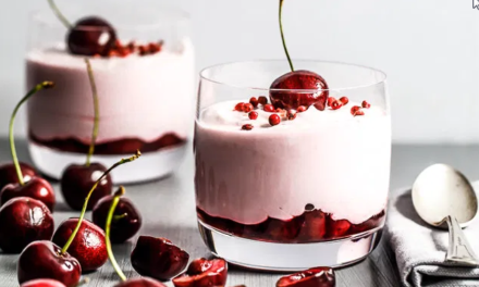 Cherry Mousse