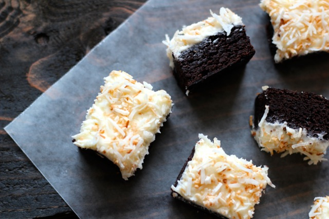 Coconut Cocoa Brownies