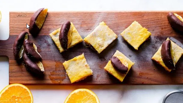 Chocolate Orange Bars