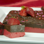 Strawberry Chocolate Fudge