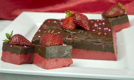 Strawberry Chocolate Fudge