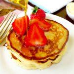 Strawberry Pancakes with Cinnamon