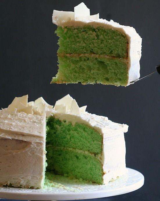 Vanilla Mint Cake