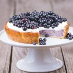 BLUEBERRY CUSTARD TART
