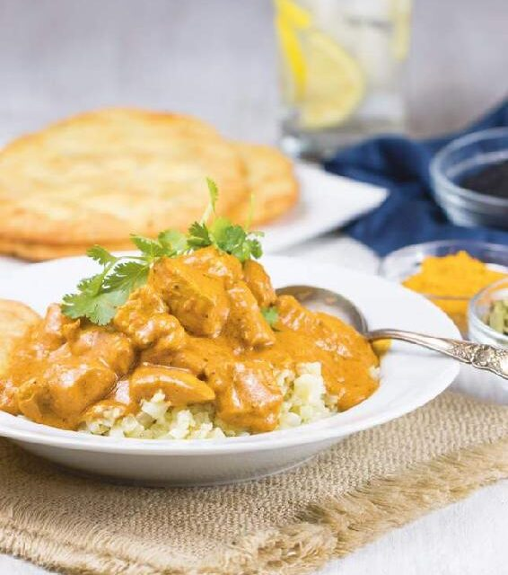 INDIAN-STYLE COCONUT BUTTER CHICKEN