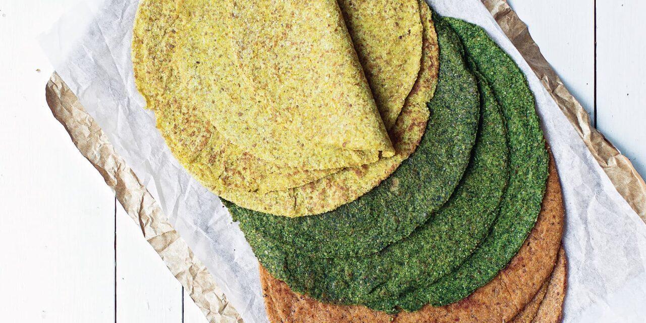 Keto Tortillas Three Ways