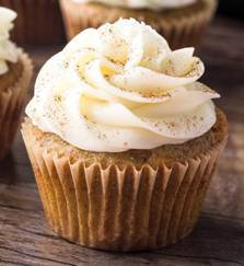 Zucchini Spiced Cupcakes