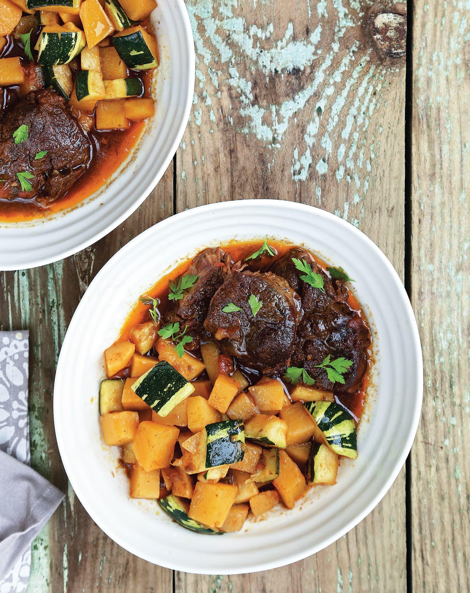 Autumn Beef & Vegetable Stew