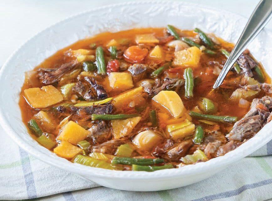 Autumn Oxtail Soup