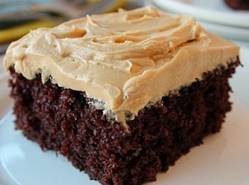 Chocolate Cake With Peanut Buttercream