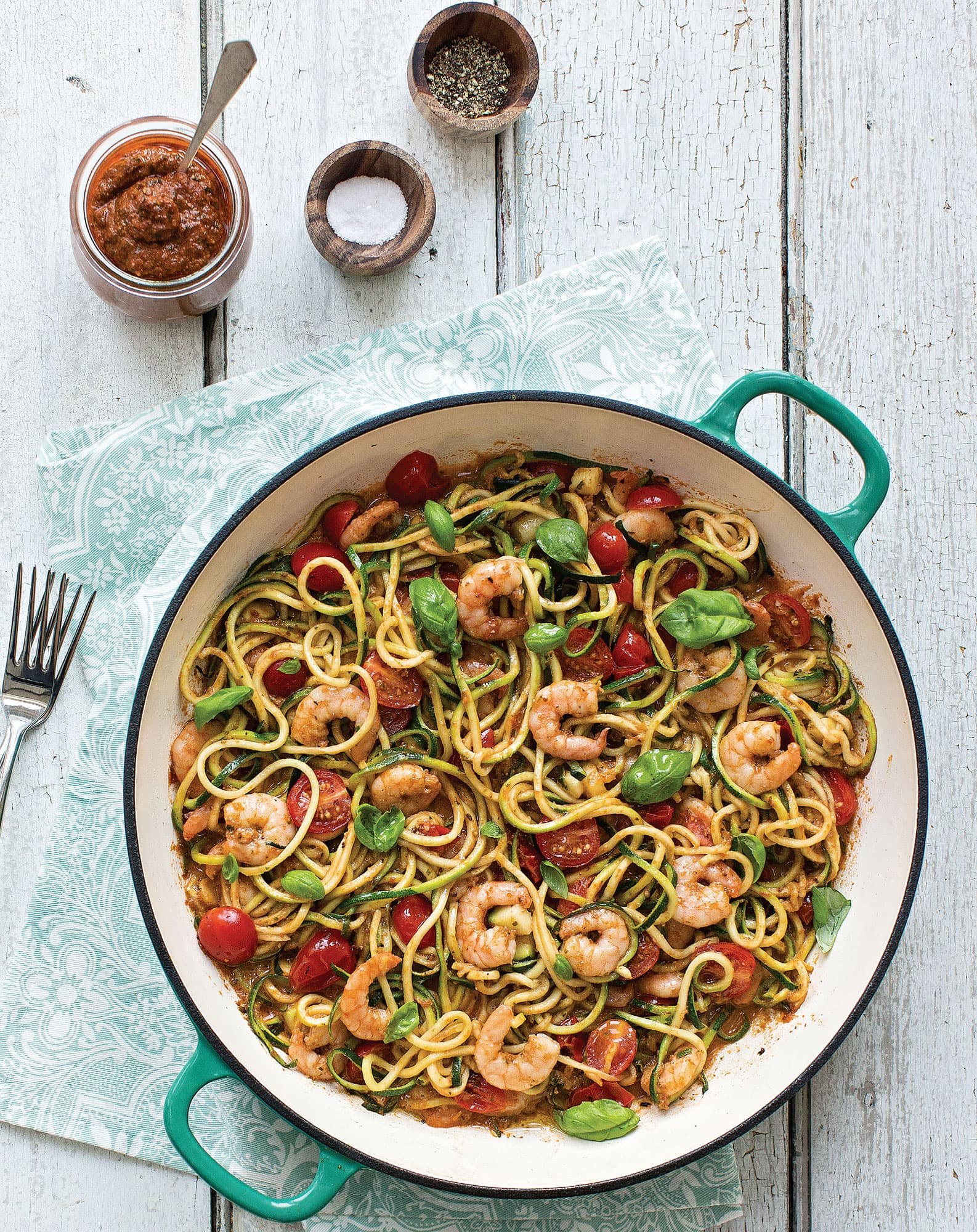 Quick Italian Shrimp Pasta