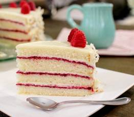 Raspberry Coconut Cake – Slow Cooked