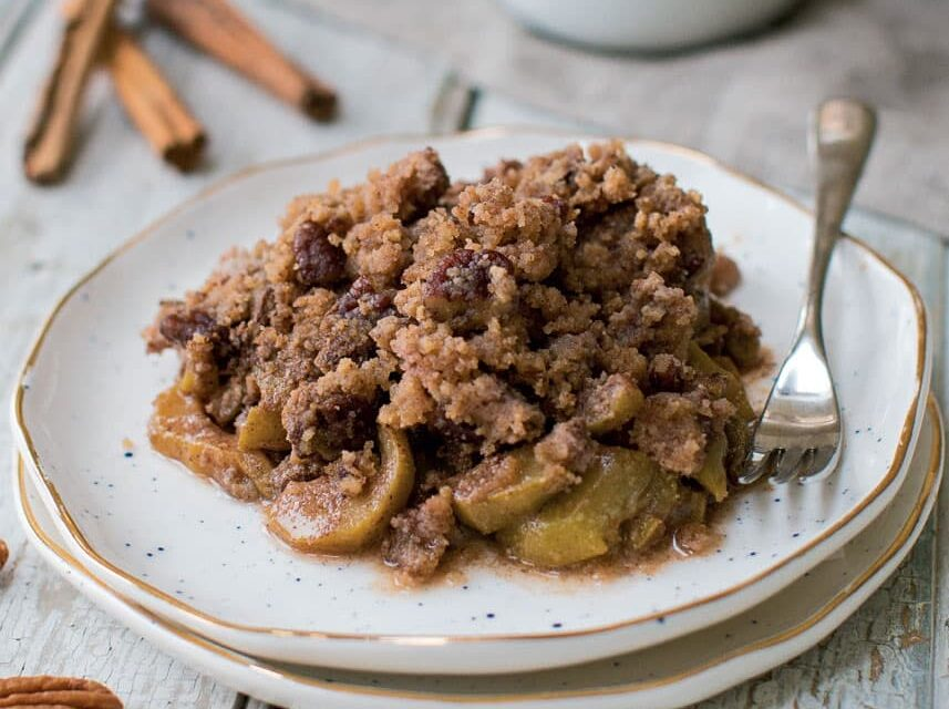 """Apple"" Pie Crumble"