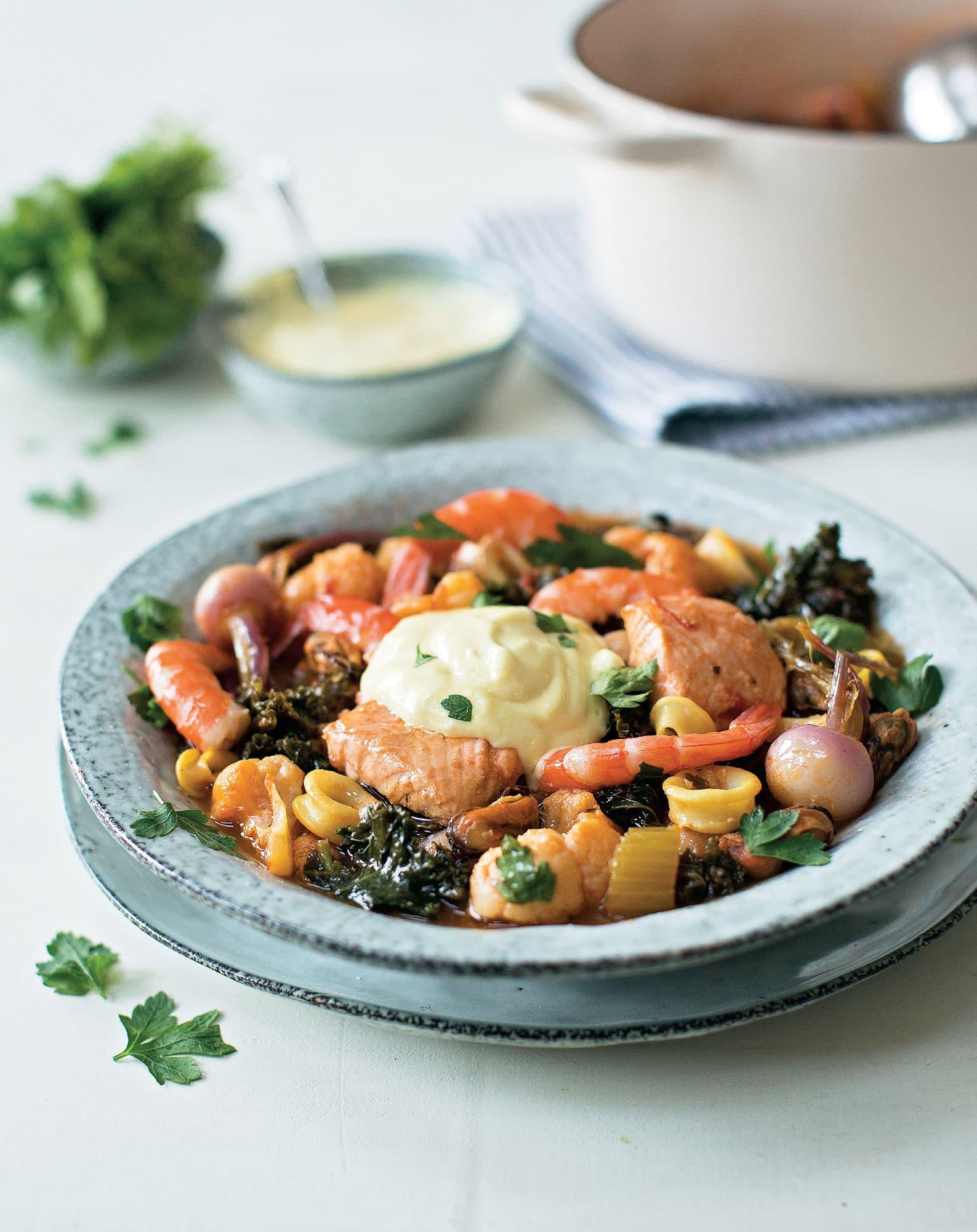 Fish & Seafood Bouillabaisse