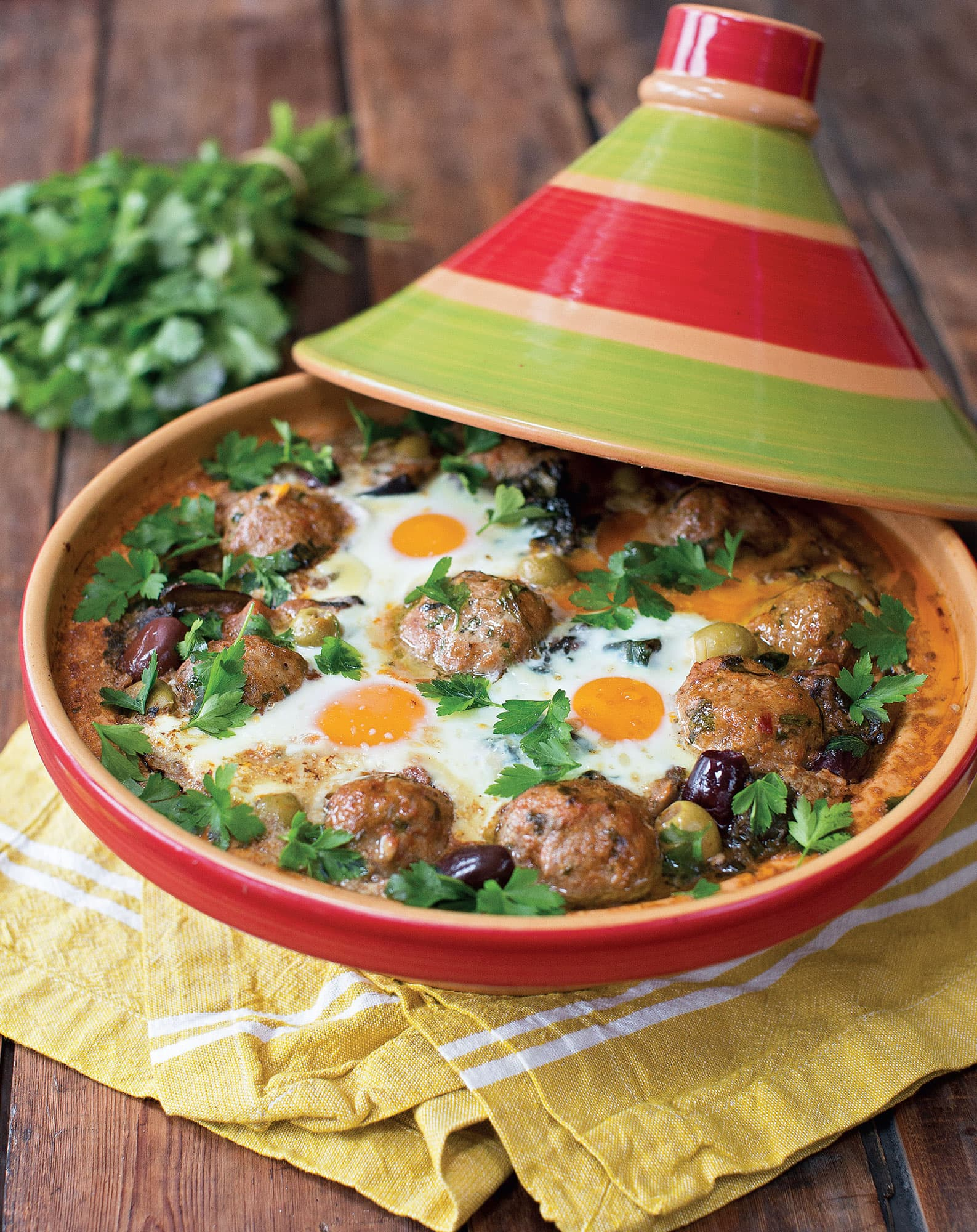 Kefta Meatball & Egg Tagine