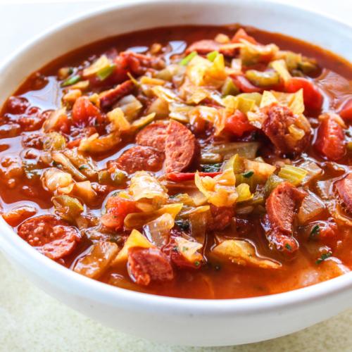 Sausage & Cabbage Stew