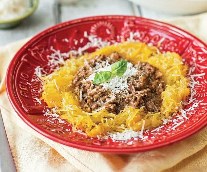 Spaghetti Squash Bolognese