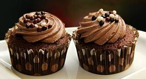Double-Chocolate Blender Muffins