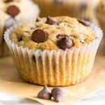 Mini Peanut Butter Chocolate Chip Muffins