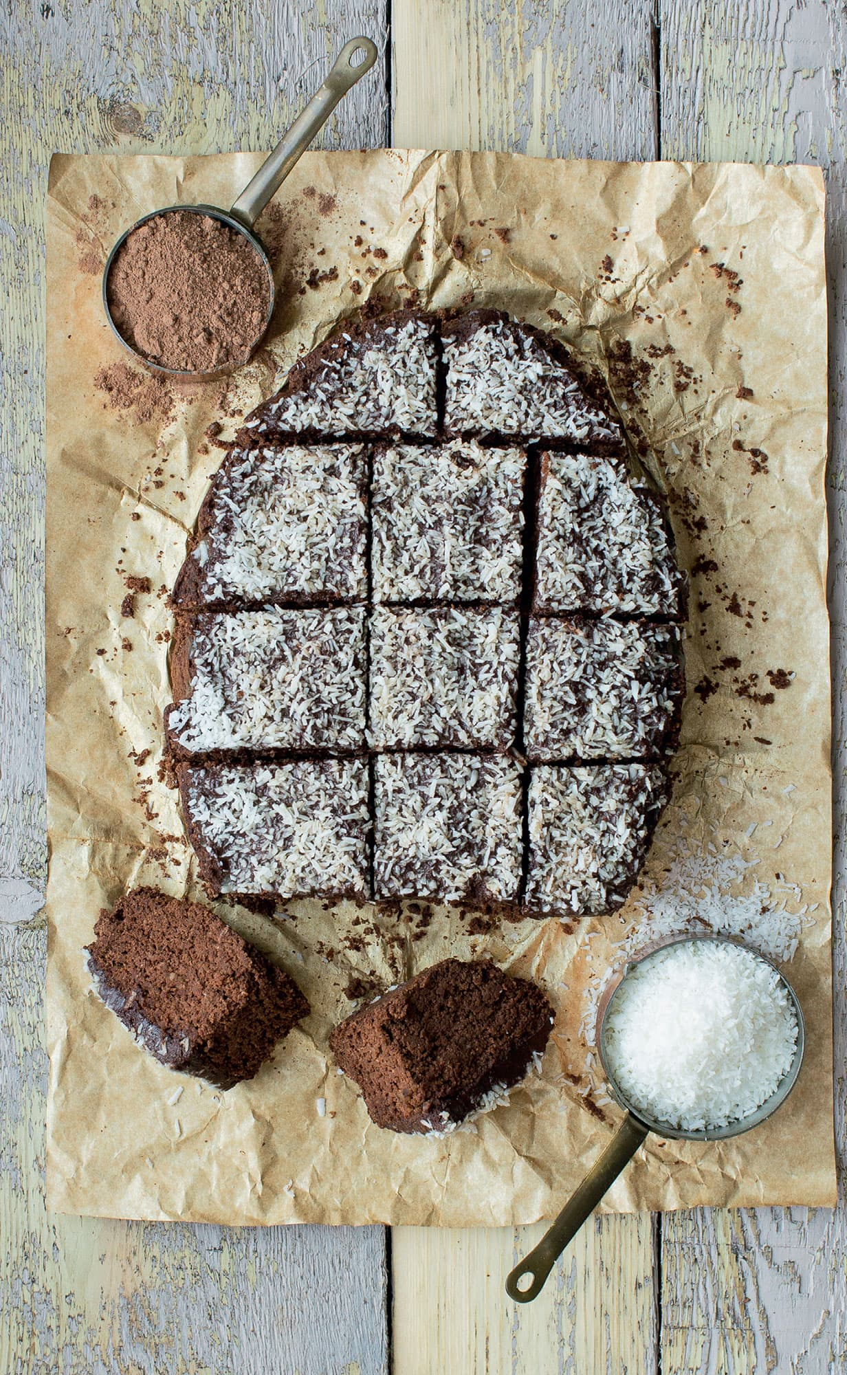 Spiced Chocolate & Coconut Cake