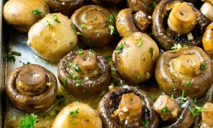 Garlic Herb Mushrooms