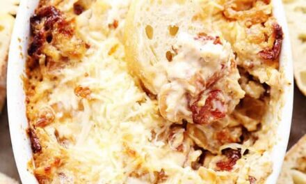 Vidalia Onion and Bacon Dip