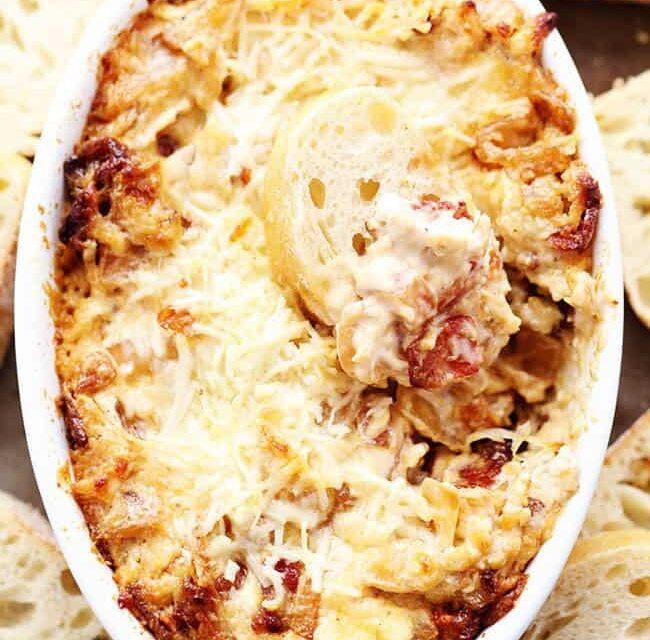 Vidalia Onion and Bacon Dip