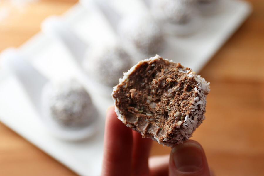 PB – Chocolate Pudding & Avocado Fat Bomb