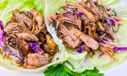 Pulled Pork in Lettuce Wraps