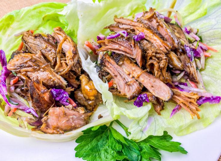 Pulled Pork in Lettuce Wraps