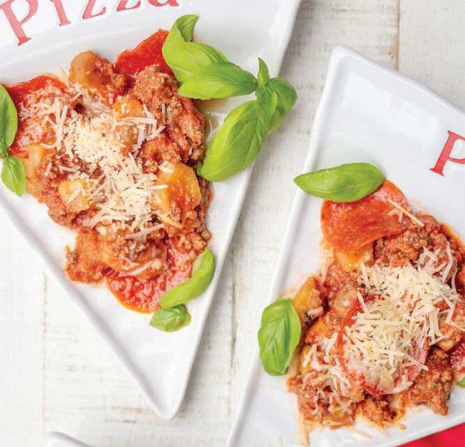 ONE-POT PIZZA-RONI