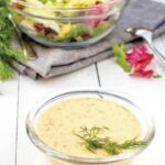 GREEN SPECKLED DRESSING