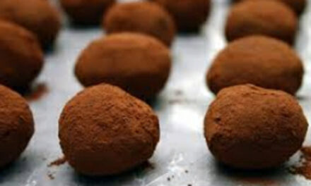Coco-Coffee Truffles